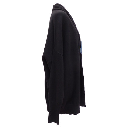 Jil Sander Poncho jacket with shawl collar