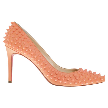 Christian Louboutin pumps with rivet trim