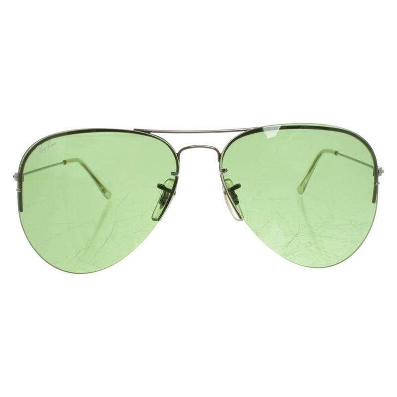 grüne ray ban sonnenbrille