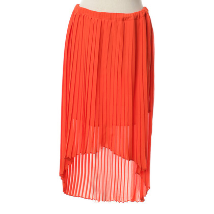 Michael Kors Pleated skirt in Orange