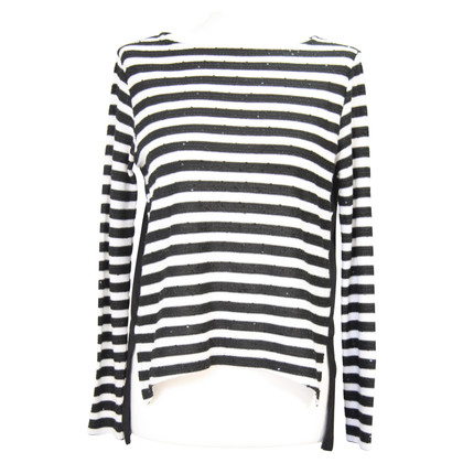 French Connection Striped sweater with sequins