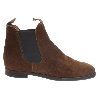 Other Designer Suede Ankle Boots in Brown
