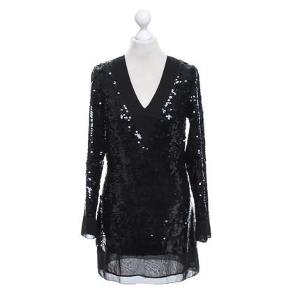 Karl Lagerfeld Sequin dress in black