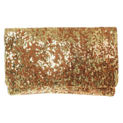 BCBG Max Azria clutch with sequins