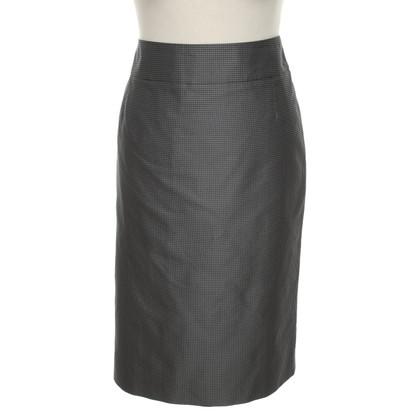 Hugo Boss Gray skirt with white dots