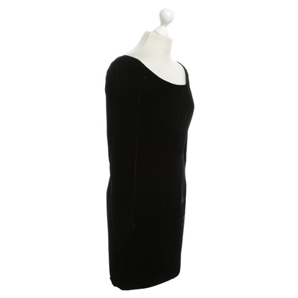 Emanuel Ungaro Velvet dress in black