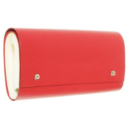 Hermès Round notebook in red