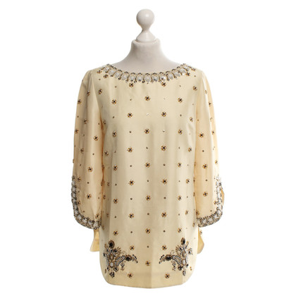 Tibi Top in crema