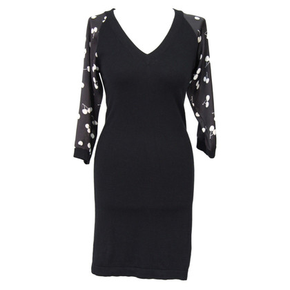 Antoni + Alison Knit dress in black