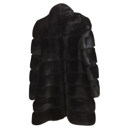 Simonetta Ravizza Cappotto di pelliccia