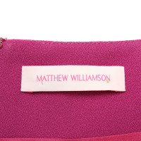 Matthew Williamson Etuikleid in Fuchsia