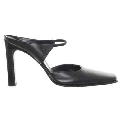 Casadei Mules in black