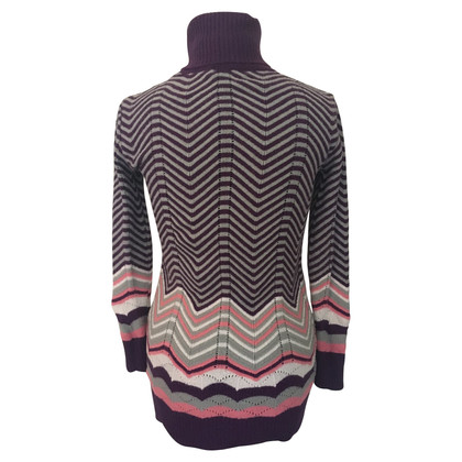 Missoni Long pullover with turtleneck