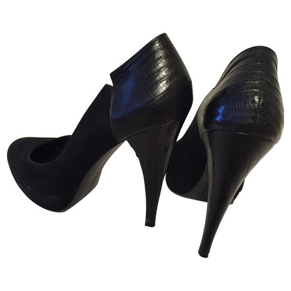 Barbara Bui Black suede pumps