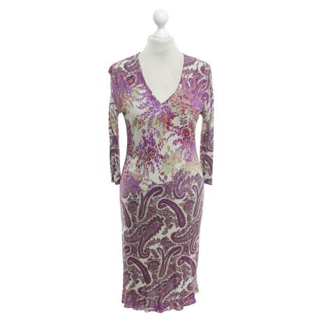 Paisley Bunt mit Kleid Etro Bunt Muster Kleid Paisley Muster mit Muster Muster Etro Pn1U8zqWx