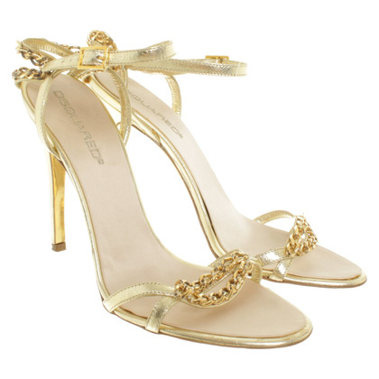 Dsquared2 Golden sandals