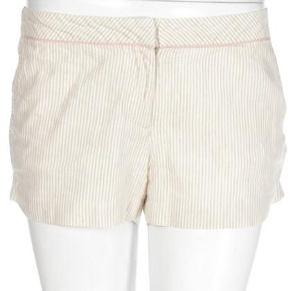 Tibi Shorts aus Leinen/Baumwolle