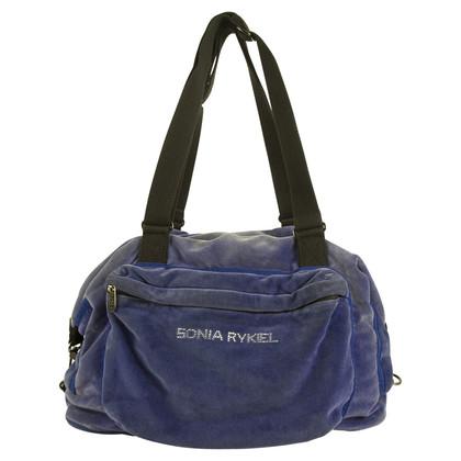 Sonia Rykiel Velour Bag