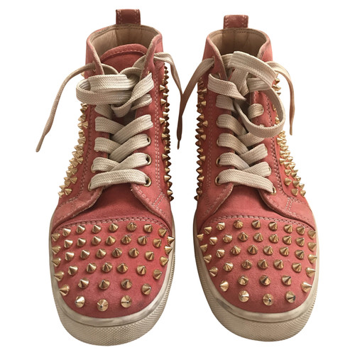 online retailer 1ee41 7f238 Christian Louboutin Sneaker with studded trim - Second Hand ...