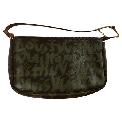 """Louis Vuitton """"Pochette Accessories Monogram Graffiti"""""""