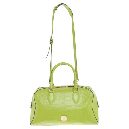 MCM Handbag in ottica di rettili