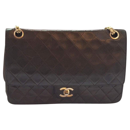 "Chanel ""2.55 Classic Flap Bag Medium"" in Brown"