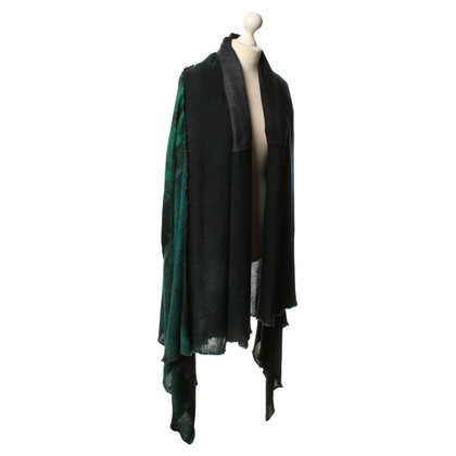 Other Designer Stole in Green/Black