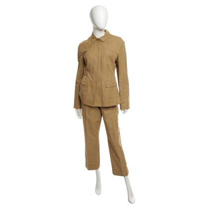 Strenesse Blue Trouser suit in ocher