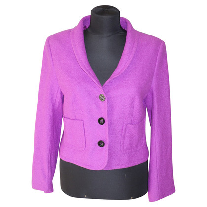 Escada Wool blazer in fuchsia