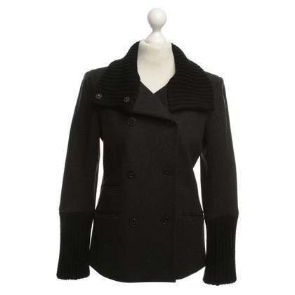 Theory Short coat in anthracite