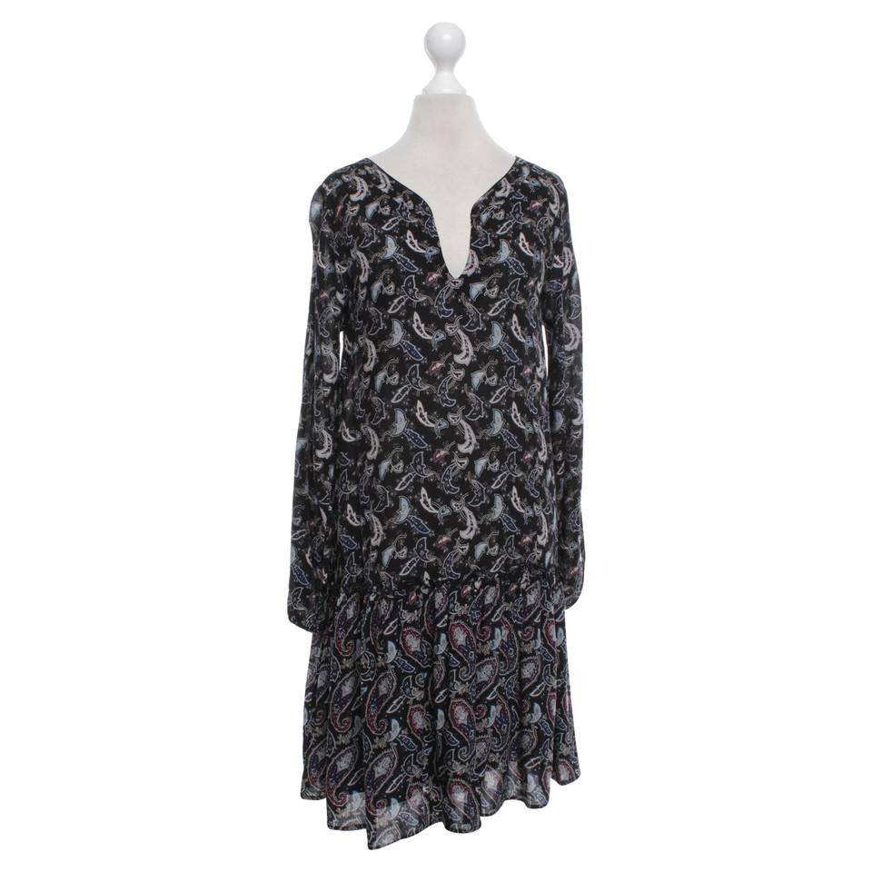 Comptoir des cotonniers robe avec motif cachemire - Robe blanche comptoir des cotonniers ...