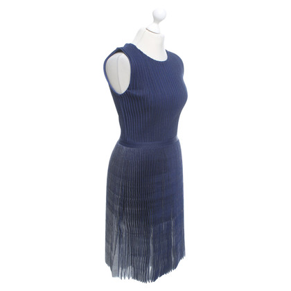 Christian Dior Knitted dress in blue