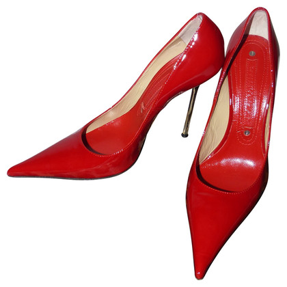 Gianmarco Lorenzi Pumps patent leather
