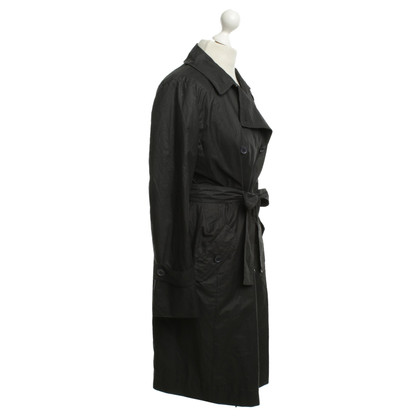 Max Mara Trench coat in black