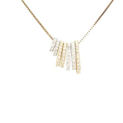 Swarovski Necklace in gold colors