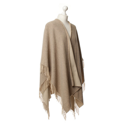 Stefanel Poncho in Beige