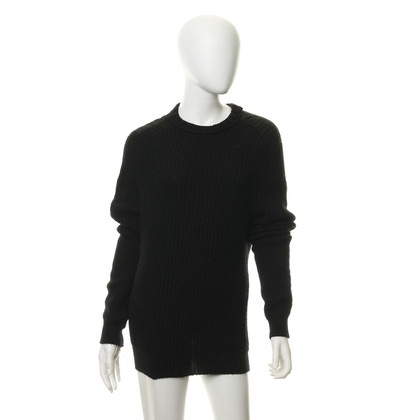 Damir Doma Black knit pullover