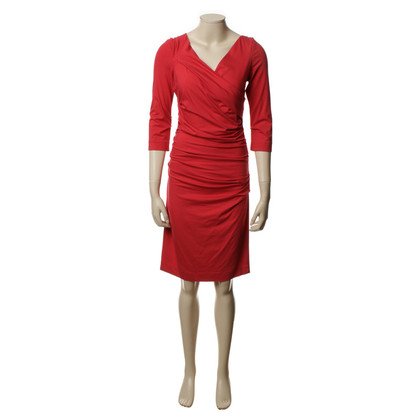 Diane von Furstenberg Jersey dress in red
