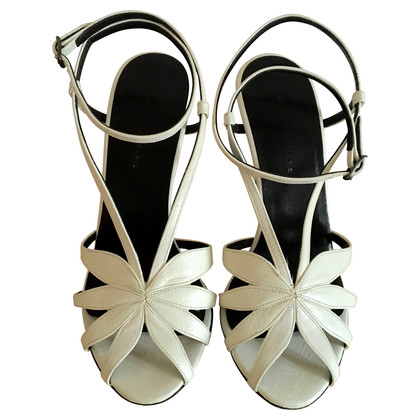 Balenciaga White Leather sandals