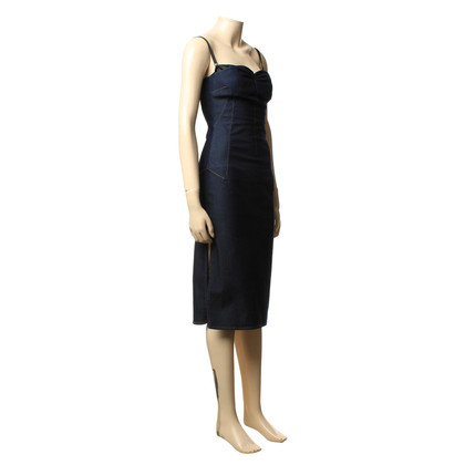 Dolce & Gabbana Jeans jurk met gleuf