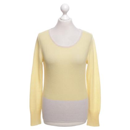Iris von Arnim Sweater in yellow / cream