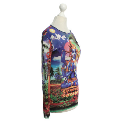 Jean Paul Gaultier Oberteil mit Motiv-Print