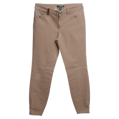 Ralph Lauren Camel trousers in rider style