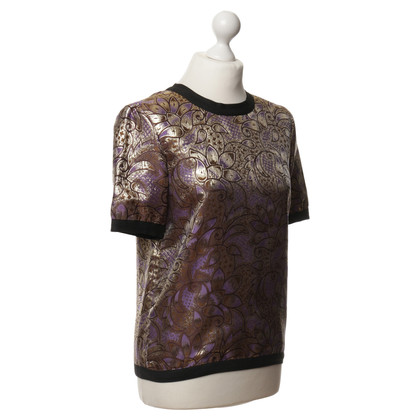 Marni for H&M top with gold shimmer