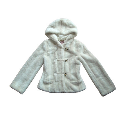 Juicy Couture Faux fur jacket - snow