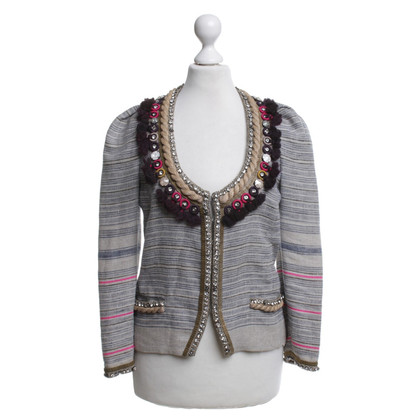Isabel Marant Blazer with striped pattern