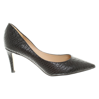 Diane von Furstenberg Black leather pumps