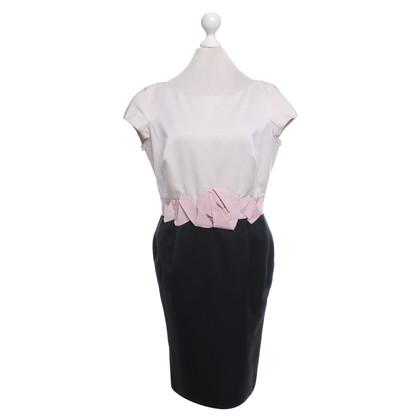 Paule Ka Sheath dress in beige / black