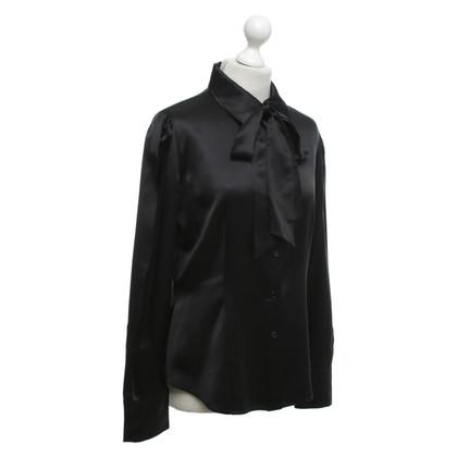 Max Mara Silk blouse in black