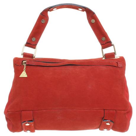Billig Kaufen Shop Andere Marke Goldenlane - Wildleder-Handtasche in Rot Rot Besuch Bester Preiswerter Großhandelspreis TRz2dDA